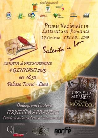 Premio Salento in Love 2013 – La premiazione