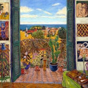 Matisse's Studio - Hotel Regina, Nice 1941