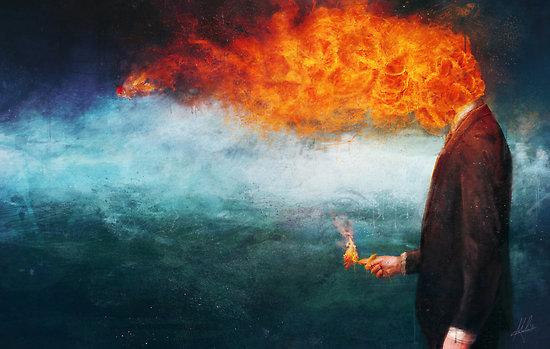 Mario Sanchez Nevado – Burning art