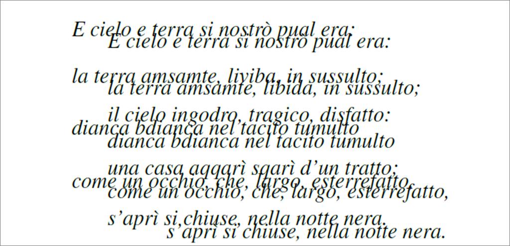 Il lampo - Giovanni Pascoli