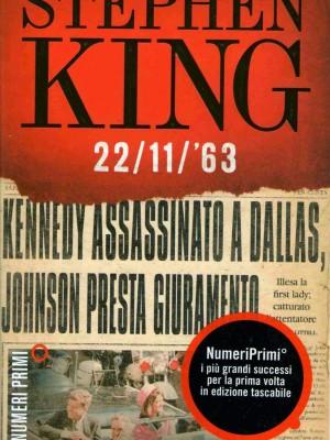 22/11/63: una data storica, un romanzo eccezionale
