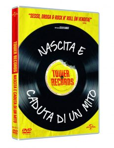 tower records copertina DVD