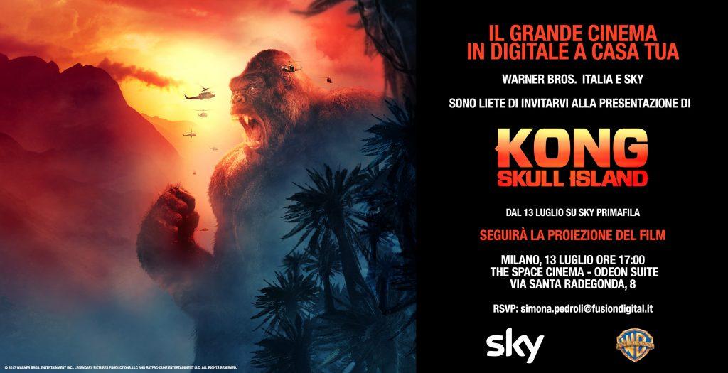 Kong: Skull Island, la locandina