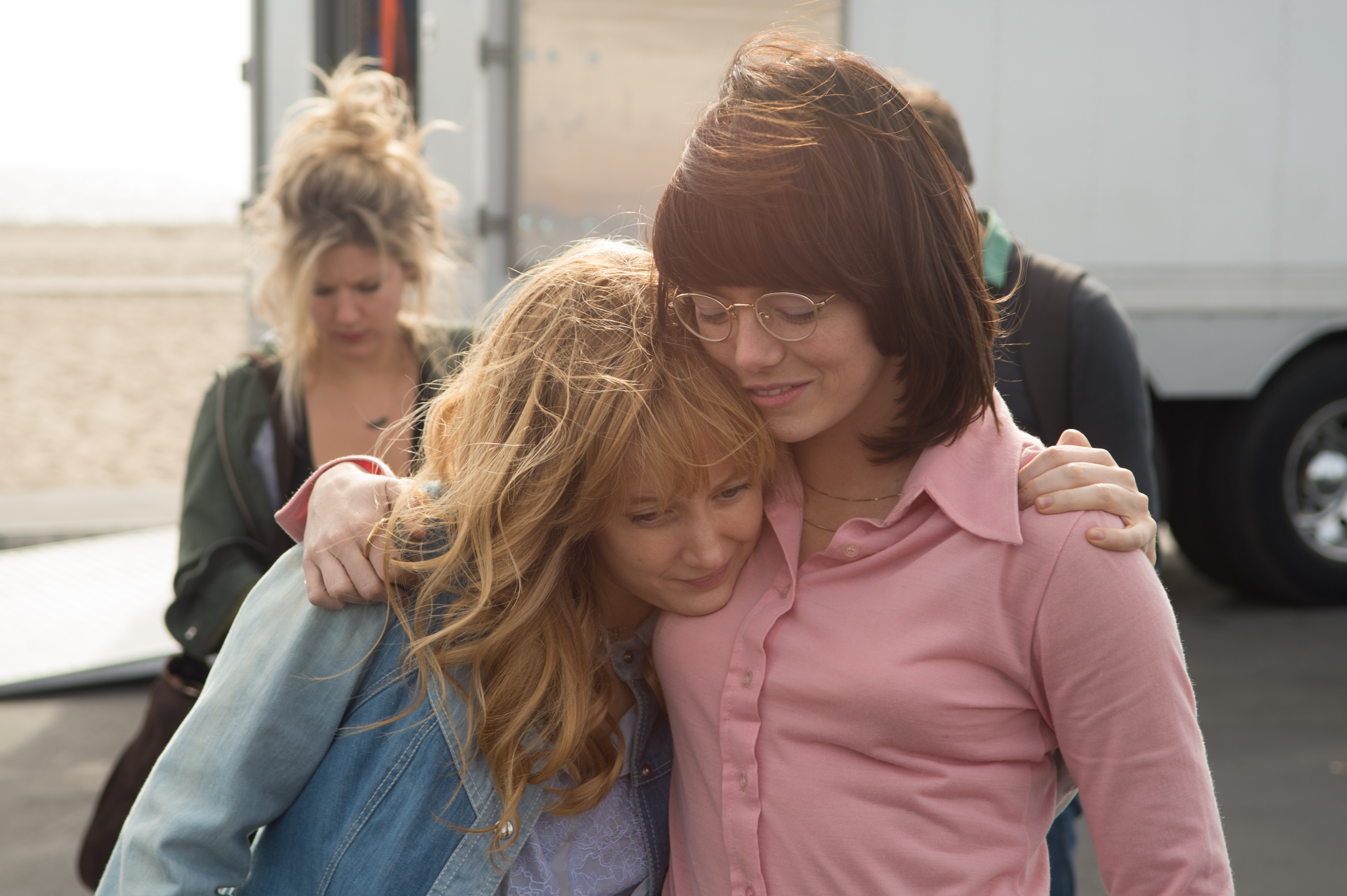 Andrea Riseborough ed Emma Stone nel film <em>La</em> <em>battaglia dei sessi</em>. Photo by Dale Robinette.© 2017 Twentieth Century Fox Film Corporation All Rights ReservedLa battaglia dei sessi