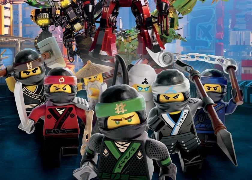 LEGO Ninjago: il film – Charile Bean, Paul Fisher, Bob Logan