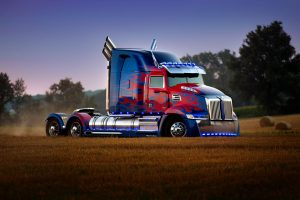 Optimus Prime in TRANSFORMERS: THE LAST KNIGHT, from Paramount Pictures.